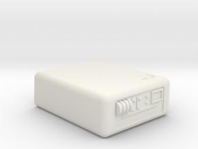 Tricorder, Closed (Star Trek Next Generation), 1/6 in White Natural Versatile Plastic