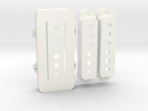 Pawn Shop Bass VI Set in White Processed Versatile Plastic