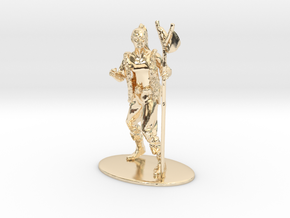 Kender Miniature in 14k Gold Plated Brass: 1:60.96