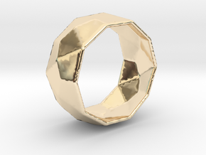 Octagonal Ring in 14K Yellow Gold: 8 / 56.75