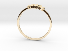 Crystallized Ring (all size 4-13)  in 14k Gold Plated: 7 / 54