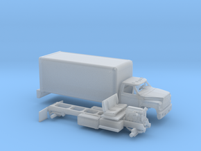 1/160 1980-86 Ford F 600 Delivery Box Van in Frosted Ultra Detail