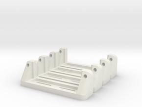 Servoholder-24mm-1-4pieces in White Natural Versatile Plastic