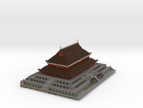 Imperial Palace in Full Color Sandstone