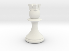 Pawns with Hats - Rook in White Strong & Flexible