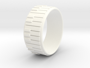 Piano Ring - US Size 12.5 in White Processed Versatile Plastic