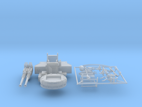 Best Detail 1/35 40mm Bofors Twin Mount KIT in Smooth Fine Detail Plastic