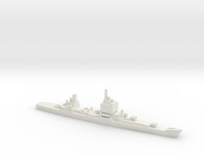 USS Long Beach, Final Layout, 1/3000 in White Strong & Flexible