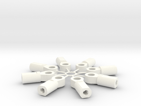5mm Adjuster in White Strong & Flexible Polished