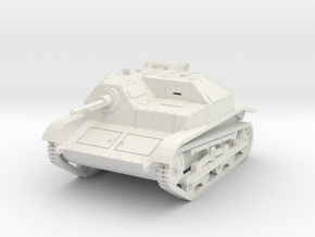 PV138 Polish TKS Tankette (1/48) in White Natural Versatile Plastic
