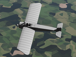 Morane-Saulnier Type G in White Strong & Flexible: 1:144