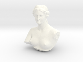 Venus de Milo in White Strong & Flexible Polished: Medium