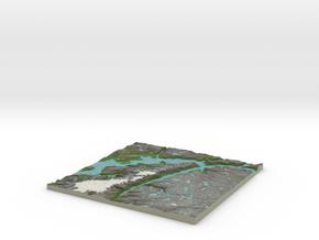 Terrafab generated model Fri Jan 20 2017 15:54:29  in Full Color Sandstone