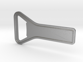 Quick Prying Bottle Opener in Natural Silver