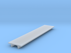 """'N Scale' - 8' Wide Double Tee x 40' Long x 24"""" De in Smooth Fine Detail Plastic"""