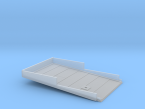 N-scale Buddys Waffle Shop Roof in Smooth Fine Detail Plastic
