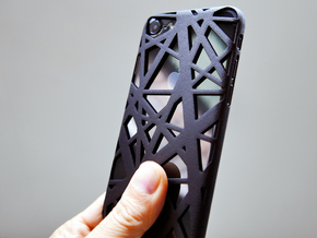 iPhone 7 Case_Intersection in Black Strong & Flexible