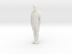 Printle C Homme 153 - 1/64 - wob in White Natural Versatile Plastic
