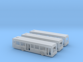 1:400 3x Bus in Smooth Fine Detail Plastic
