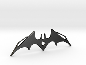 Batarang in Matte Black Steel