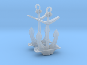 1/96 IJN Stern Anchor in Smooth Fine Detail Plastic