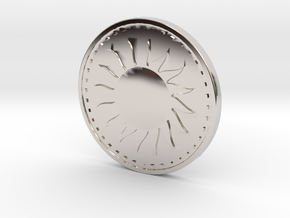 Coin of the Sun in Platinum