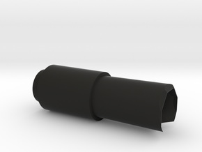 Bull barrel in Black Natural Versatile Plastic