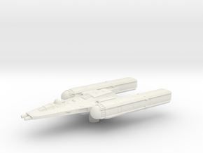 Y Wing Clone Wars era 1/270 in White Natural Versatile Plastic