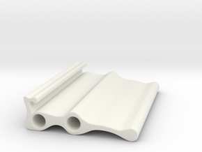 LLS Sample Holder Triple in White Natural Versatile Plastic
