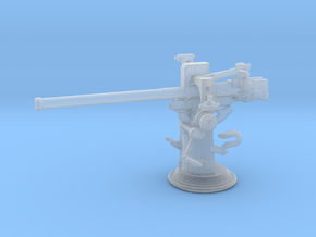 1/240 3 inch 50 [7.62 Cm] Deck Gun in Smooth Fine Detail Plastic