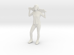 Printle C Femme 001 - 1/56 - wob in White Natural Versatile Plastic