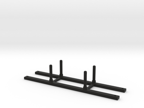 1/10 SCALE TRACTION JACK MOUNT in Black Natural Versatile Plastic: 1:10