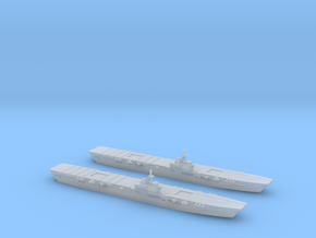 HMS Colossus 1/3000 x2 in Smooth Fine Detail Plastic