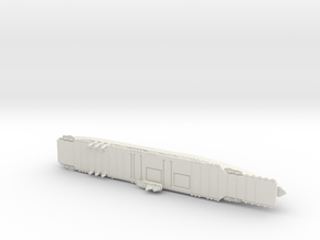 USS Ranger (CV4) 1/1250 in White Natural Versatile Plastic