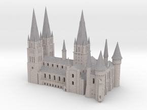 1/720 Hogwarts - Cathedral in Full Color Sandstone