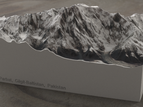 Nanga Parbat, Pakistan, 1:100000 Explorer in Full Color Sandstone