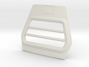 Trapezium-grill-A-1to13 in White Strong & Flexible