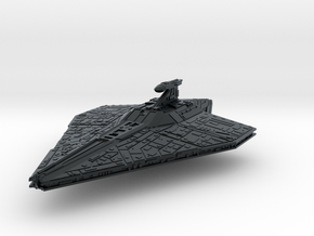 (Armada) Acclamator assault ship in Black Hi-Def Acrylate