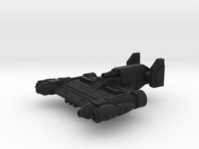 Boomerang MK II in Black Natural Versatile Plastic