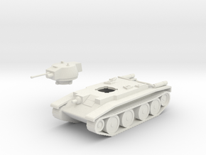 Polish 14TP Tank in White Natural Versatile Plastic