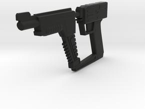 Pistol (V, The Visitors), 1/6 in Black Natural Versatile Plastic