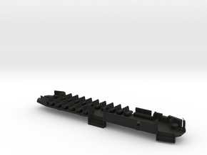 O Scale B&QT 6000 Solid Floor #1a  in Black Strong & Flexible