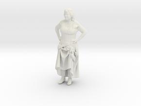 Printle H Femme 026 - 1/35 - wob in White Natural Versatile Plastic