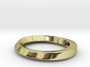 Armreif 2 in 18k Gold Plated Brass