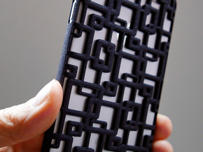 iPhone 6 / 6S Case_Connection in Black Strong & Flexible