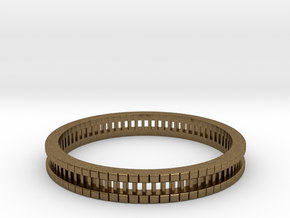 Bracelet D Small 2.0 Inch-52 Mm in Natural Bronze