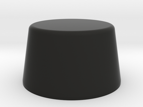 "Lava Cap for 70's ""Century"" model in Black Natural Versatile Plastic"