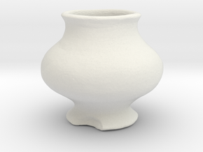 Printle Pottery 01 in White Strong & Flexible