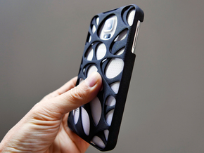 Samsung Galaxy S5 Case_Voronoi in Black Strong & Flexible
