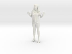 Printle C Femme 028 - 1/56 - wob in White Natural Versatile Plastic